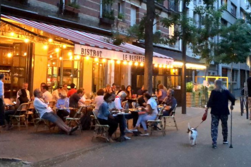 MENTON - Restaurants : extension temporaire des terrasses